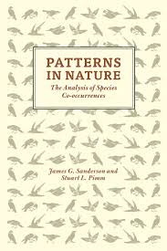 pattern of analysis patterns in nature the analysis of species co occurrences