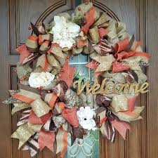 Wreath For Front Door 45 Cheerful Thanksgiving Wreaths To Greet Your Guests With