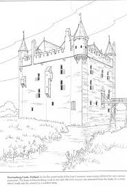4 castle coloring pages medieval europe medieval