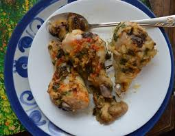 Chicken Main Dish - roasted chicken drumsticks with mushrooms an easy passover main