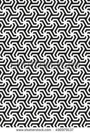 seamless geometric pattern stylish background dotwork stock vector