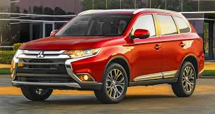 red mitsubishi outlander 2016 mitsubishi outlander officially shows its face