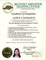 Helper Resume Sample by Filipina Domestic Helper Applicant Janet Cv