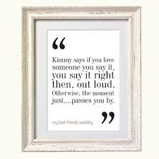 wedding quotes to a friend my best friends wedding quote typography print 8x10 on a4