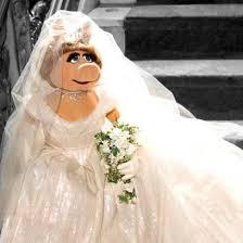 vivienne westwood wedding dress vivienne westwood designs miss piggy s wedding dress telegraph