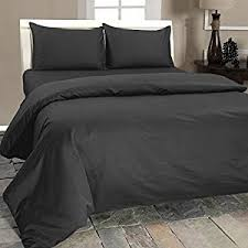 Charcoal Duvet Cover King Homescapes Luxury Double Dark Charcoal Grey Egyptian Cotton Duvet