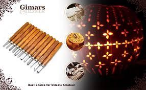 Wood Carving Starter Kit by Amazon Com Gimars 12 Set Sk5 Carbon Steel Wax U0026 Wood Carving