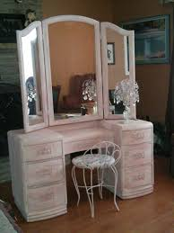 Wicker Vanity Set Mesmerizing White Wicker Vanity Set 46 With Additional Home