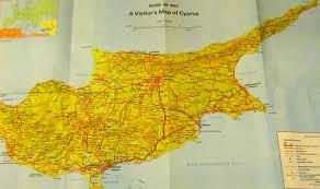 Map Of Cyprus Cyprus Elizabethsvines