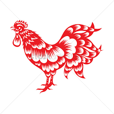 oriental rooster design vector image 1972842 stockunlimited