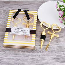 wine wedding gift 10pcs wedding gift hearts corks wine opener for guest gifts