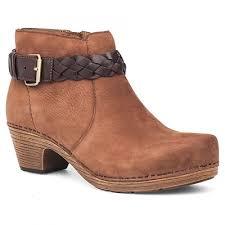 dansko s boots dansko ankle boots in milled nubuck s boots