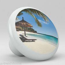 Beach Themed Cabinet Knobs Palm Tree Knobs Ebay