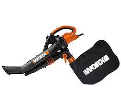 Blower Vaccum Worx Trivac High Capacity Dual Speed Blower Vacuum U0026 Mulcher