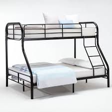 Amazoncom DFM Metal Twin Over Full Bunk Beds Ladder Kids Teens - Metal bunk bed ladder