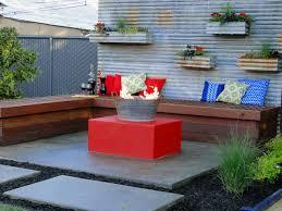 Diy Backyard Patio Ideas Diy Outdoor Seating Use An Old Vessel Diy Outdoor Seating