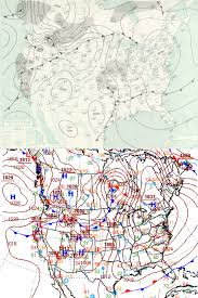 Surface Weather Map Usa Weather Map Stock Video Footage Synthetick Current Weather
