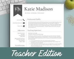 Sample Resume Format For Teachers by Best 25 Teacher Resume Template Ideas On Pinterest Resume
