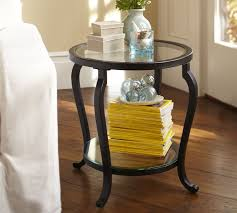 small side table for bedroom louisa side table pottery barn