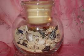 Seashell Centerpiece Ideas by 25 Sea Shell Crafts And Unique Table Centerpiece Ideas