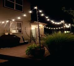 Patio Hanging Lights Hanging String Lights Outdoors As Well As Fantastic Outdoor Patio