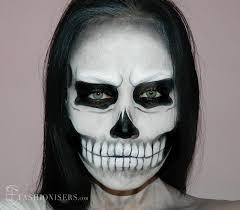 werewolf makeup tutorial male lady gaga inspired halloween skull makeup tutorial fashionisers