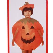 Pumpkin Costume Halloween Kids Pumpkin Costume Halloween Unisex Fancy Dress Party Orange
