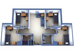College Dorm Tv Fau Resident Hall Layout