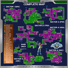 Terraria Map Viewer Game Maps Metroid Fusion Metroid Recon