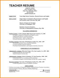 chemist resume objective 100 resume objective sample for teacher new lecturer english