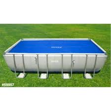 Intex Metal Frame Swimming Pools Intex 18ft X 9ft Solar Cover Retangular Ultra Frame Swimming Pool