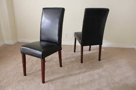 Leather Dining Chairs Canada Osp Designs Parsons Dining Chair With Nailheads Habit Leather