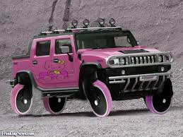 kitty hummer car pictures freaking