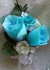 turquoise corsage wedding corsage ebay