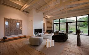 rustic home full of art designed by francesc rifé studio