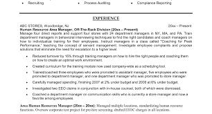 resume imposing hr generalist resume objective examples imposing