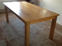 Second Hand Dining Table And Chairs North Yorkshire Large Oak Dining Tables And Chairs Second Hand Household