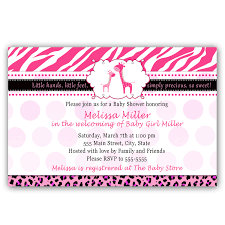 photo monkey baby shower invitation image