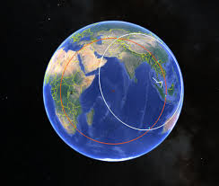 Google World Map 3d by Ogle Earth Notes On The Political Social And Scientific Impact