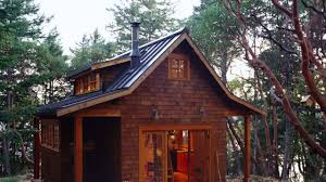 cool tiny cabins in the woods youtube