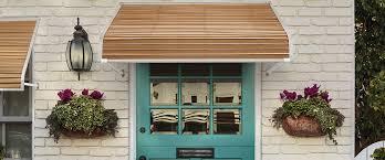 Fabric Door Awnings Home Nuimage Awnings