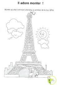Coloriages De La Tour Eiffel Fete Tour A Coloriage Tour Eiffel