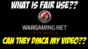 Dmca by Fair Use Can Wg Really Dmca My Video Youtube