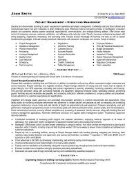 Resume For Credit Manager Project Management Resume Examples Resume Example And Free