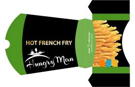 box design fry food box design