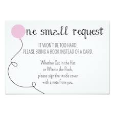 bring a book instead of a card baby shower baby shower book request invitations announcements zazzle