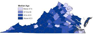 Virginia Map With Cities Retirement Patterns Anywhere But Cities Statchat