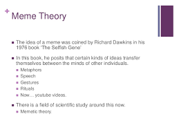The Selfish Meme - compissues02 meme theory