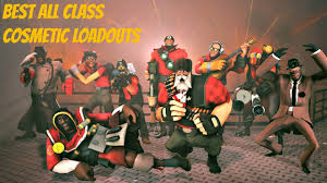 cosmetic classes tf2 best all class cosmetic loadouts