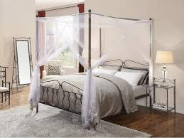 letto baldacchino letto marquise 4 dimensioni metallo stile ferro battuto